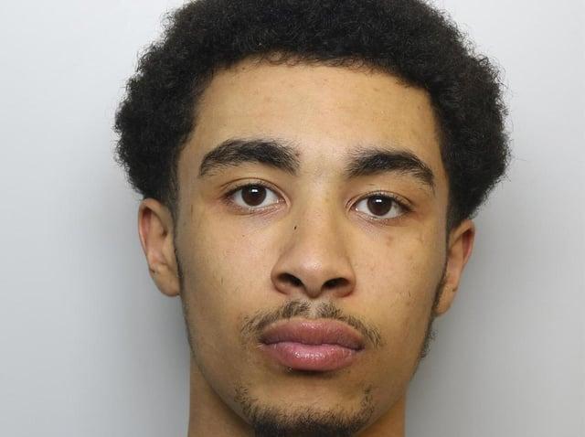 Robber Matthew Mandende was jailed for 32 months.