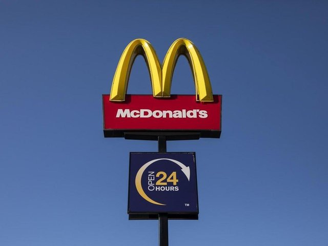 A McDonald's sign (photo: Dan Kitwood/Getty Images).