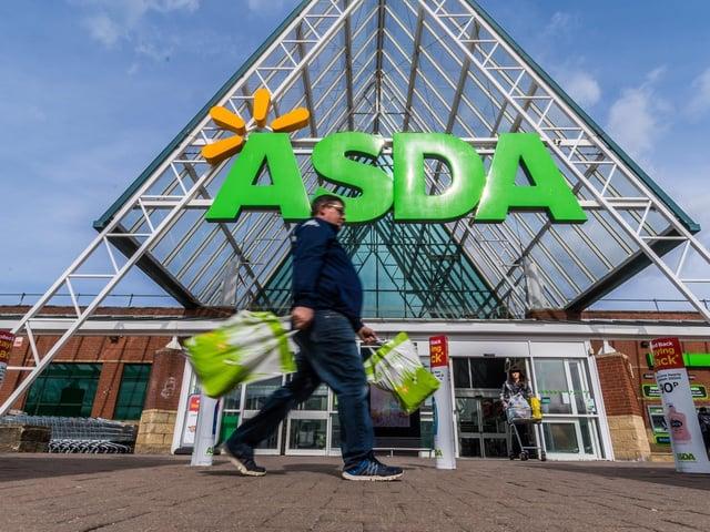 1,200 jobs at risk across Asda stores.