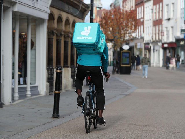Deliveroo has published a trading update