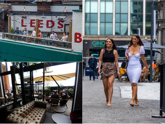These are the best outdoor drinking and food spots you can book in Leeds city centre right now