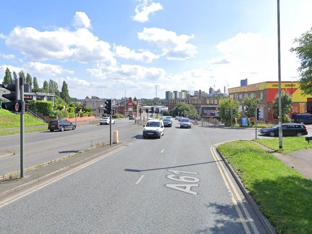 A man has died after being hit by a car on Scott Hall Road.