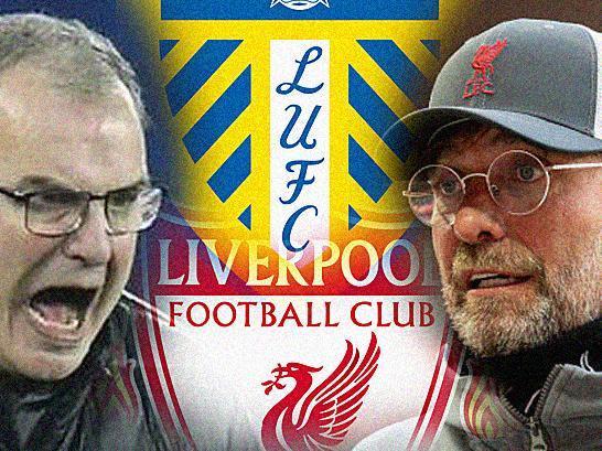 Leeds United head coach Marcelo Bielsa will take on Liverpool's Jurgen Klopp on Monday.