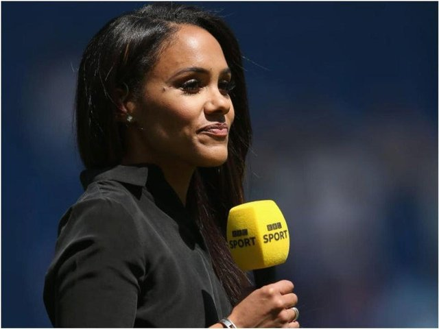 Former England and Arsenal footballer Alex Scott is reportedly lined up to be the next host of Football Focus, replacing Dan Walker when he leaves at the end of the season (Photo: Steve Bardens/Getty Images)