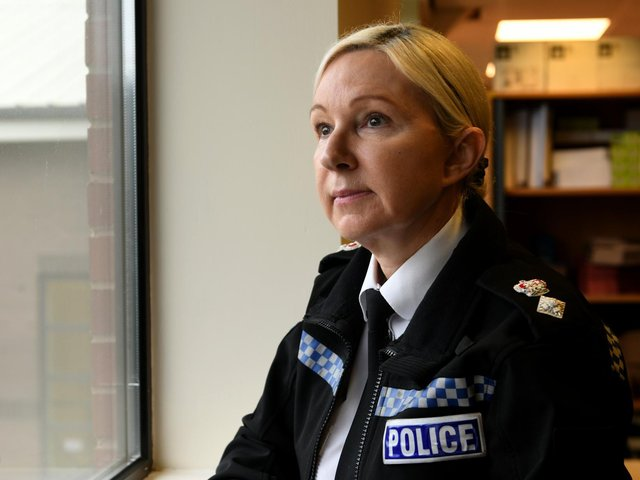 Chief Superintendent Jackie Marsh, the director of the West Yorkshire Violence Reduction Unit