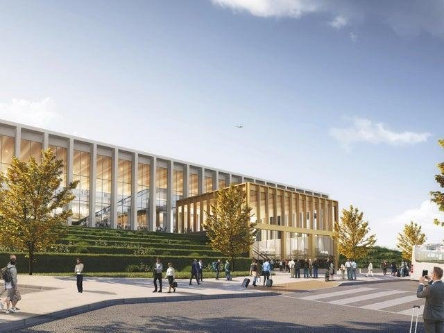 Leeds Bradford Airport to knock down old terminal and build a £150m new one.