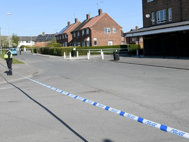 A police cordon which surrounded the scene on Wednesday morning has since been removed.