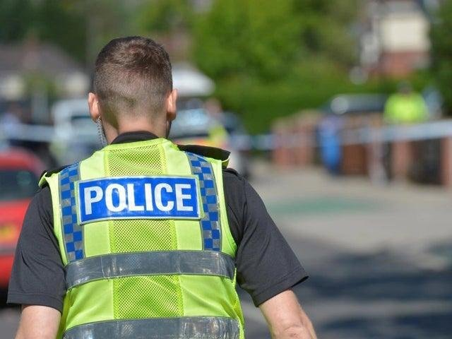A knife was found in a bush in Burmantofts during police patrols in the area.