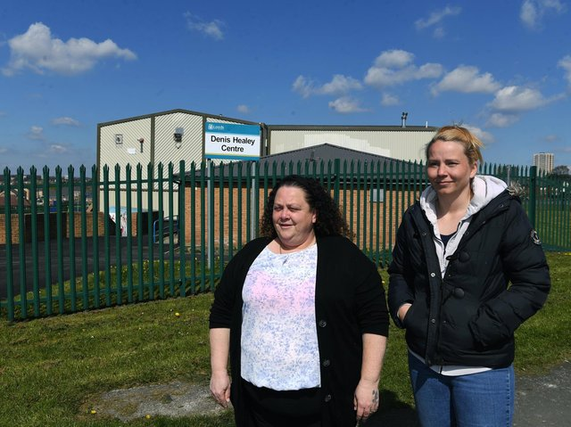 Stacey Hubbard and Cat Dunwell from Seacroft Community On Top, which is based at the Denis Healey Centre.