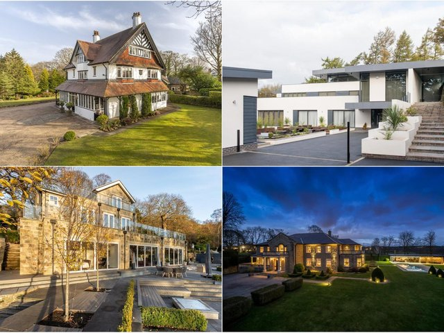 Take a look at the most expensive houses on the market in Leeds right now...
