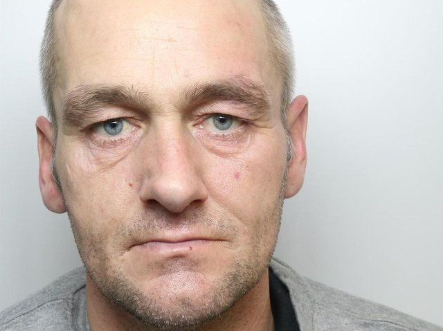 Darren Richmond was jailed for 20 months for rammed police vehicle with stolen van in Beeston.