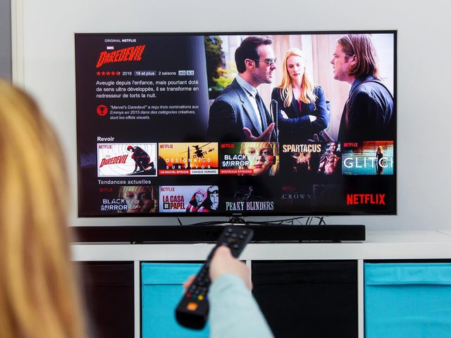 This is what you can watch on TV today. Photo: Netflix