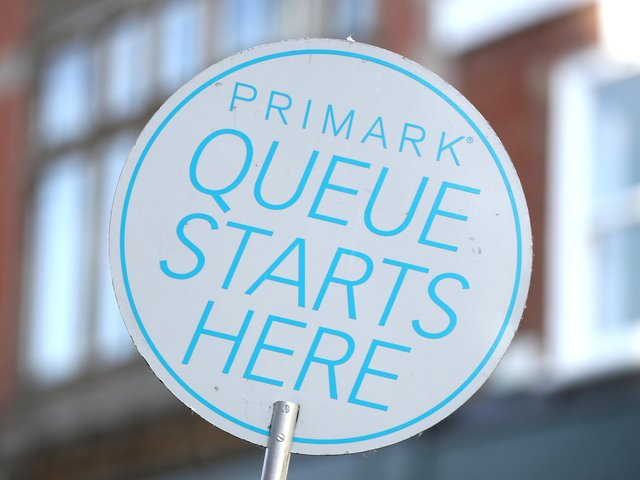 """A West Yorkshire shopping centre has been forced to stop further entry to Primark today to """"safeguard staff"""". PA"""