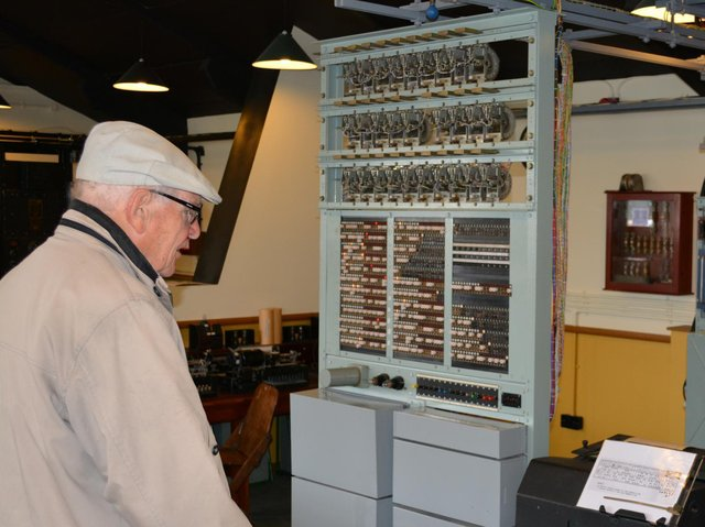 Roy Howard only learned in the 1970s the circuits he tested were used in the first computer which cracked Nazi codes.