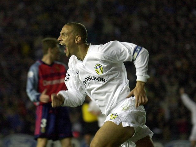Enjoy these photo memores from Leeds United 3-0 Champions League quarter final first leg in against Deportivo La Coruna at Elland Road in April 2001. PICS: Getty