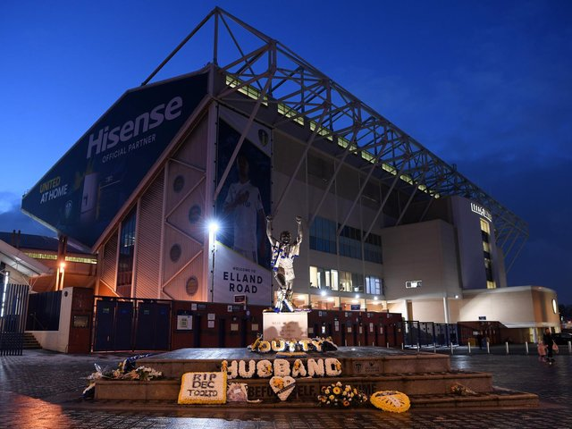 STATEMENT: From Leeds United Supporters' Trust on the European Super League ahead of tonight's Premier League clash against Liverpool at Elland Road, above. Photo by Stu Forster/Getty Images.