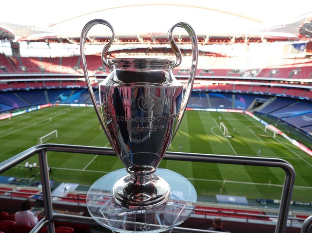 The Champions League trophy. Pic: Getty
