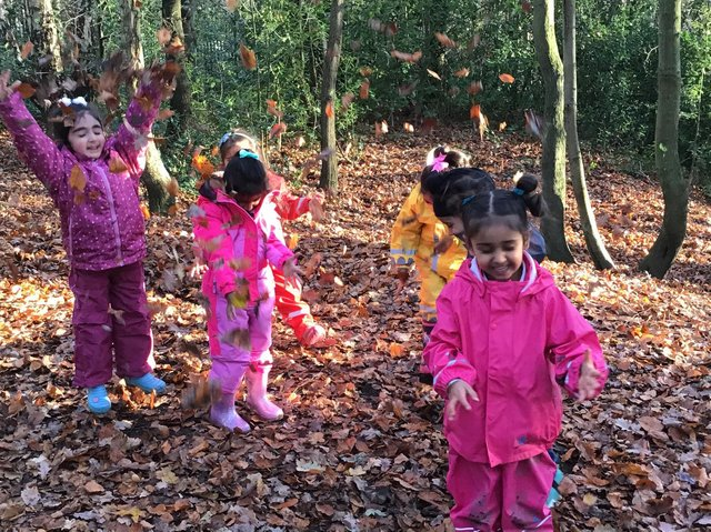 Children have flourished when spending part of the school day outdoors says the headteacher at Primley Wood.