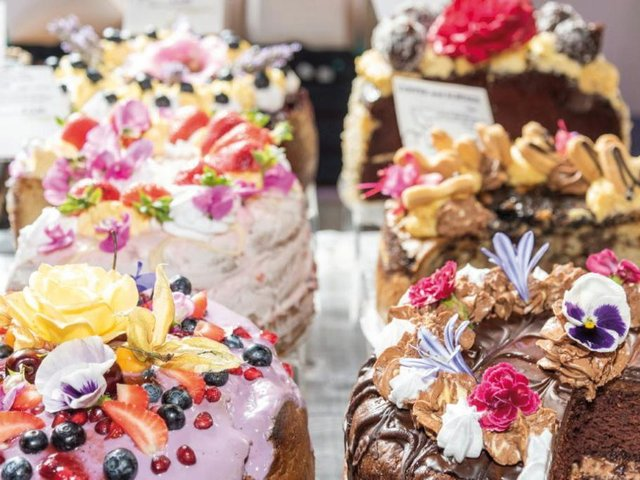Sweet treats and tempting savouries will be on offer from Vegan Sweet Tooth London