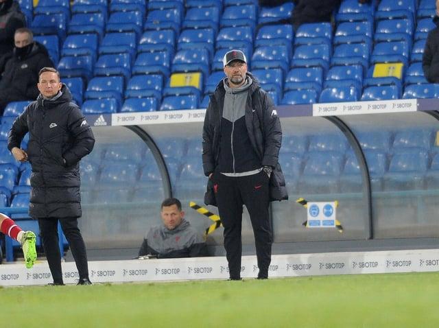 Liverpool head coach Jurgen Klopp. Pic: Simon Hulme