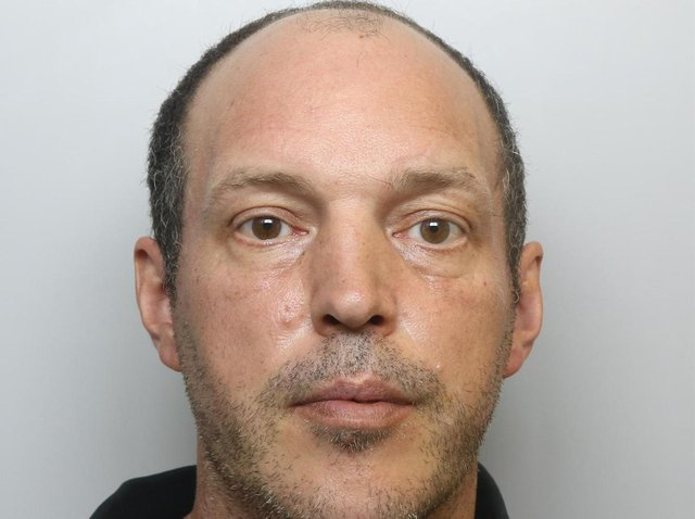 Robert Biddle was jailed for stalking after Leeds Crown Court heard how he pitched a tent in his victim's garden.