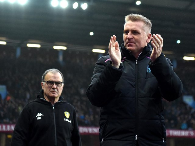 FOOTBALL UNITED - Both Leeds United boss Marcelo Bielsa and Aston Villa manager Dean Smith have voiced their disagreement with the European Super League proposal. Pic: Getty