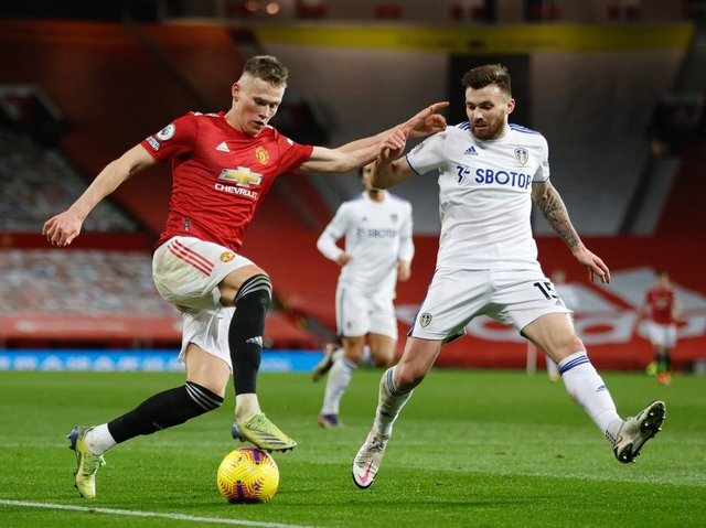 BIG GAME - Leeds United's games against Manchester United are always huge but the ESL news will maybe add something to it, says Dominic Matteo. Pic: Getty