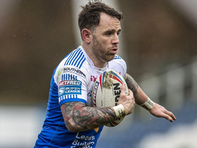 Richie Myler is set to return for Rhinos this week after a three-game layoff. Picture by Tony Johnson.