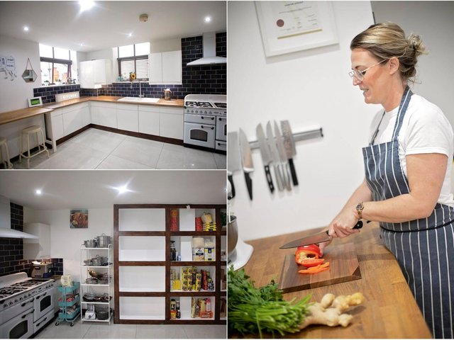 How determined Leeds woman conquered sight loss to create kitchen business