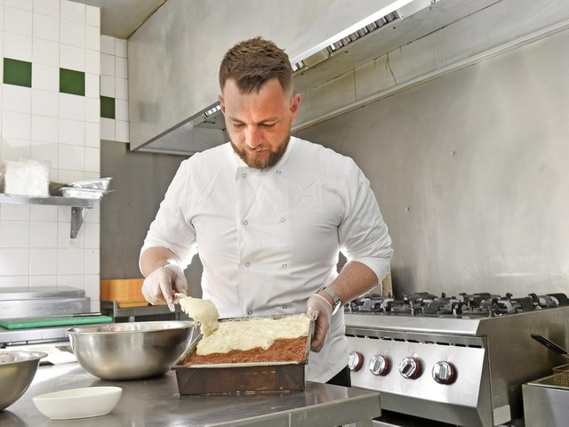 Enjoy a taste of Greece in your own home with Besmir's simple moussaka recipe