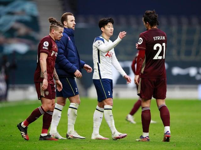 RETURN FIXTURE - Tottenham Hotspur visit Leeds United at Elland Road next month. Pic: Getty