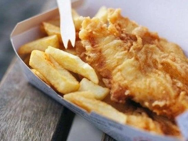 Could you eat fish and chips three times a day?