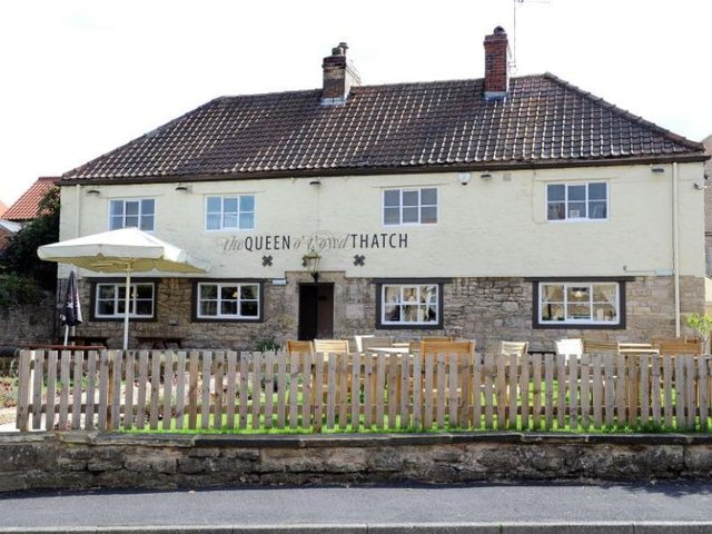 The Queen O'T'Owd Thatch, High Street, South Milford, in 2015. Picture: Jonathan Gawthorpe.