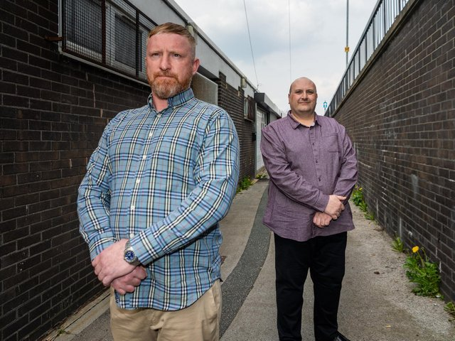 Chris Sylvester and Carl Hedley are back on their old Armley stomping ground - but to very different effect.