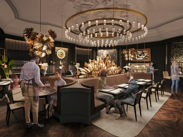 How the new Queens Hotel will look when it opens in Summer.