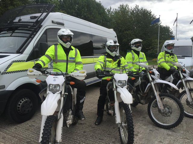 Police across Leeds are targeting the use of off-road motorbikes.