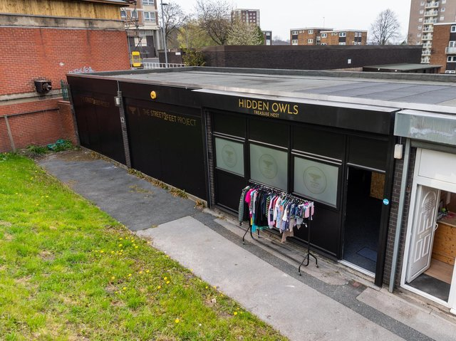 Hidden Owls is nestled under the high-rises of Armley