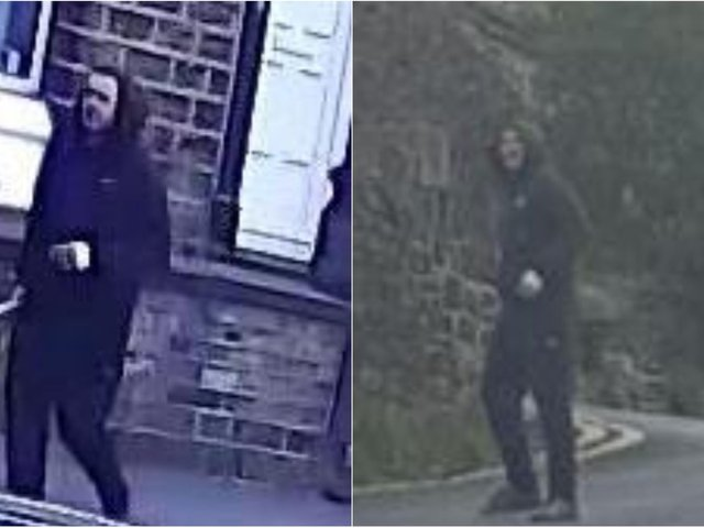 Police have released images of a man they would like to identify in connection with an incident of indecent exposure.
