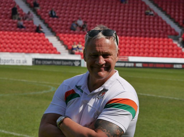 Hunslet coach Gary Thornton. Picture by Hunslet RLFC