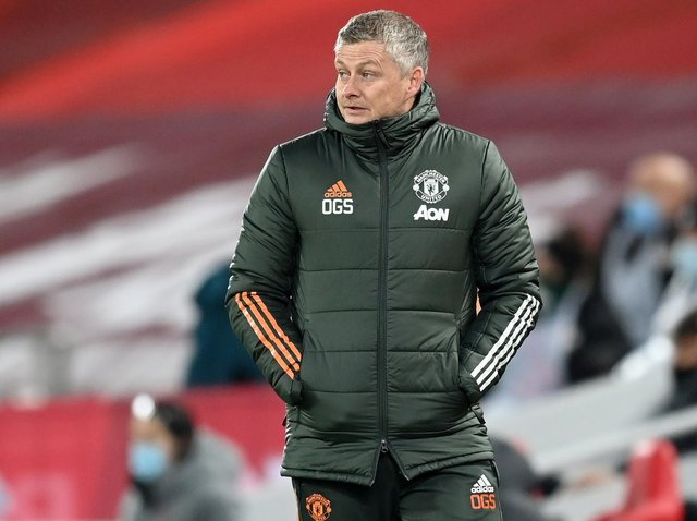 Manchester United head coach Ole Gunnar Solskjaer. Pic: Getty