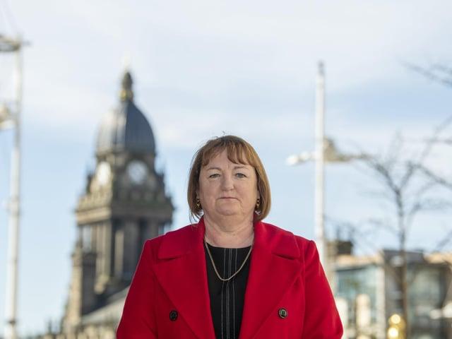 Councillor Debra Coupar, Leeds City Council's deputy leader and executive member for communities