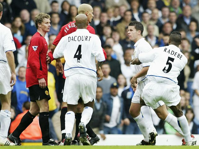 Leeds United defeated Manchester United 1-0 at Elland Road in September 2002.