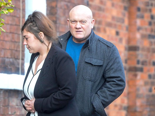 Craig Cambridge, the father of deceased Leah Cambridge outside Wakefield Coroner's Court in Wakefield in September 2019.