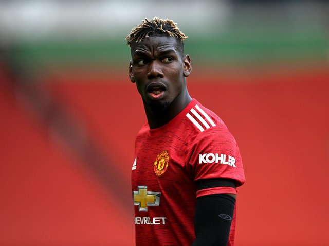 Manchester United midfielder Paul Pogba. Pic: Getty