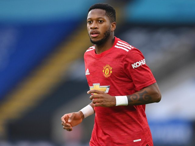 Manchester United midfielder Fred. Pic: Getty