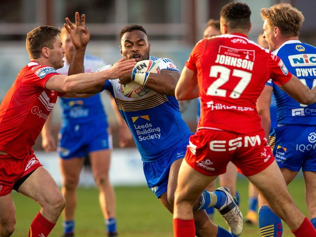King Vuniyayawa showed good signs against Hull KR. Picture by Bruce Rollinson.