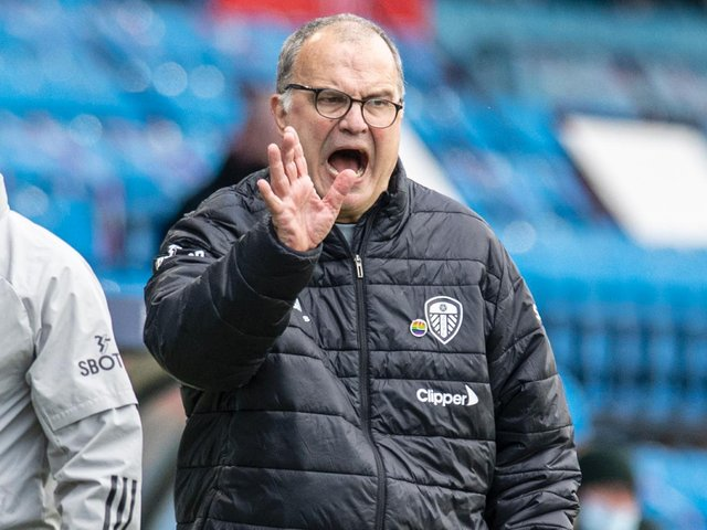 GROWING SQUAD - Marcelo Bielsa says Leeds United have grown in maturity and in their ability to take on elite players in the Premier League. Pic: Tony Johnson