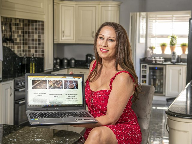 Masterchef contestant Jo Mills is launching her own website and range of spices.  Picture: Tony Johnson