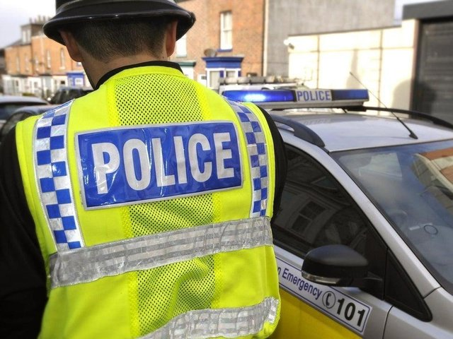 The crash happened in Back Newton Lane (police stock image)