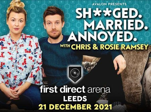 Chris and Rosie Ramsey will be coming to Leeds First Direct Area in December.